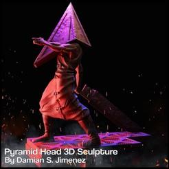 1.JPG Download STL file Pyramid Head Silent Hill Character Sculpture • 3D printable design, DamianJimenez