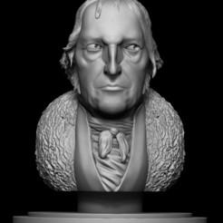 Hegel5.jpg Télécharger fichier OBJ Georg Wilhelm Friedrich Hegel • Plan à imprimer en 3D, ozinhow