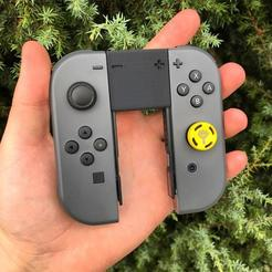 photo_2020-08-24_17-52-44.jpg Download STL file Tiny Joycon grip for Nintendo Switch • Model to 3D print, qackaa