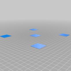 Download free STL file Bed Leveling STL • 3D printer object, dmag24