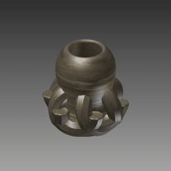 E_Vase 1_wood_perspective.png Télécharger fichier STL Vase de salon • Design pour imprimante 3D, Earthanic