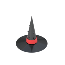 WITCH HAT 1.png Download STL file  witch hat • Model to 3D print, kraev