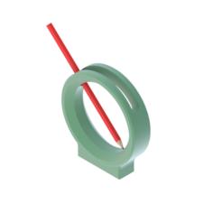 PENCIL BOX (1).png Download STL file PENCIL BOX • 3D printable design, kraev
