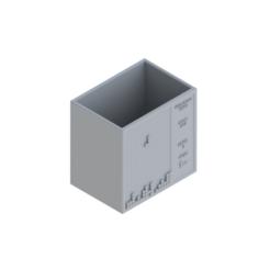 PENCIL CASE 1.png Download STL file  Tetris Pen Holder • 3D printable design, kraev