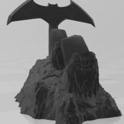 Sin título 2.png Download STL file Xbox Batman mounts • Template to 3D print, andresprepfisico