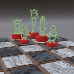 Screenshot (234).png Télécharger fichier STL gratuit Échecs en bâton • Objet pour imprimante 3D, gigggiguardascione96