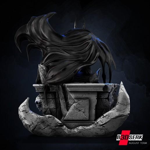200820 B3DSERK - Batman promo 04.jpg Download free STL file Batman 3d sculpture tested and ready for printing by B3DSERK Studios • 3D printer object, b3dserk