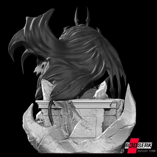 200820 B3DSERK - Batman promo 011.jpg Download free STL file Batman 3d sculpture tested and ready for printing by B3DSERK Studios • 3D printer object, b3dserk