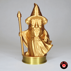 Download free STL file  3D Filament Wizard: for Shane's Birthday • Design to 3D print, robin3dverse