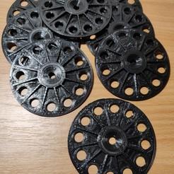 IMG_20201120_172906__01 (Large).jpg Download free STL file Insulation Load Spreading Retaining Washer • 3D printer design, danmannock