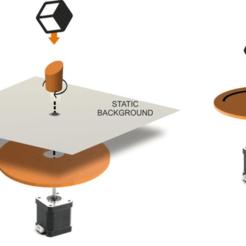 rotating_display_2_options.png Download free STL file 3D printed Rotating display (smartphone controlled) • 3D printable model, jjRobots