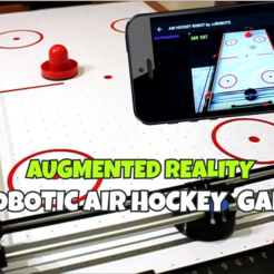 augmented_reality.png Download free STL file Air Hockey Robot EVO (SMARTPHONE CONTROLLED - OPEN SOURCE ROBOT) • Design to 3D print, jjRobots