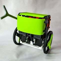 DSC_0294_v2.jpg Download free STL file Remotely controlled - Arduino Self balancing robot • 3D printing object, jjRobots