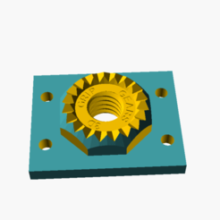 Download STL file 3D Grip Gears - Surface Mounts • 3D printable model, 3DGripGears