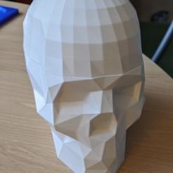 Front_with_cap.jpg Download STL file Dr Brain Breaker skull cap • 3D print design, craigdiver