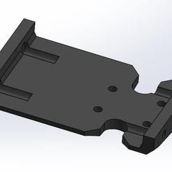 Skid Plat V8 ISO view.jpg Download STL file Redcat Gen7 Skid Plate • 3D print design, Guyaros
