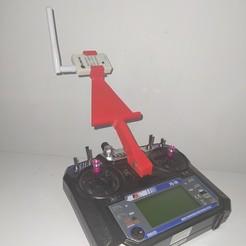 mando .jpg Télécharger fichier STL Soutien cellulaire pour Flysky • Modèle pour imprimante 3D, arielvanderdon