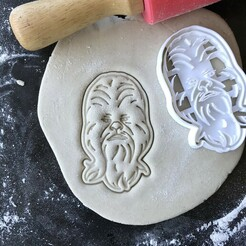 IMG_3208.JPG Download STL file STAR WARS - CHEWBACCA COOKIE CUTTER • Template to 3D print, proyectodesastre