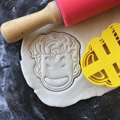 IMG_3443.jpg Download STL file Slam Dunk - Hanamichi Sakuragi cookie cutter • Template to 3D print, proyectodesastre