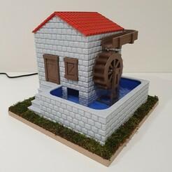 20201220_191437.jpg Download STL file Watermill • 3D print design, 3DDICT