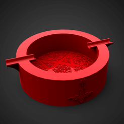1.png Download STL file Pentagram ashtray • 3D printable model, 3D_GUM