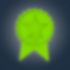 star.STL Télécharger fichier STL (Pour les dons) Dessous de verre de remerciement • Plan à imprimer en 3D, 3D_GUM