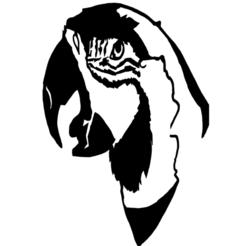 GUACAMAYA ORIGINAL.png Télécharger fichier STL MUR DE GUACAMAYA • Design imprimable en 3D, ivernozx