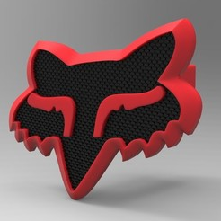 untitled.18.jpg Download STL file Fox Hitch Cover • 3D printing template, G4Desing