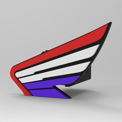 untitled.27.jpg Download STL file Honda hitch cover • 3D print design, G4Desing