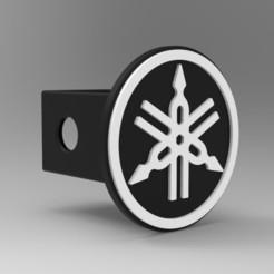 untitled.44.jpg Download STL file Yamaha hitch cover • 3D printable design, G4Desing