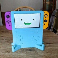 PXL_20210107_183553366.jpg Télécharger fichier STL Adventure Time BMO Switch et Switch Lite Stand • Modèle pour impression 3D, Bnackus