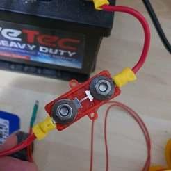 20200128_235140.jpg Download free STL file OTO Strip fuse holder • 3D printer model, ale624