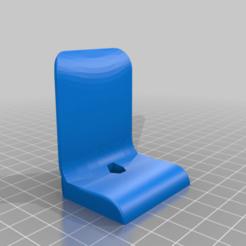 Headphone_WallStand_v5.png Télécharger fichier STL gratuit Support mural pour écouteurs • Plan imprimable en 3D, ThomasGomes