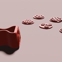 1.png Télécharger fichier STL Timbres à thème celtique • Objet imprimable en 3D, ARPestudio