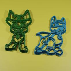 1.png Download STL file Apolo el super cachorro y Tracker cookie cutters paw patrol • 3D printing design, ARPestudio