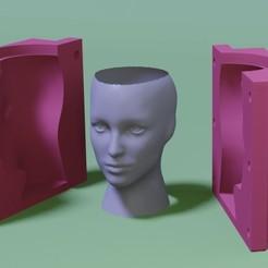 WhatsApp Image 2020-11-25 at 18.26.55.jpeg Télécharger fichier STL Matrice de plantation de têtes féminines • Modèle à imprimer en 3D, ARPestudio