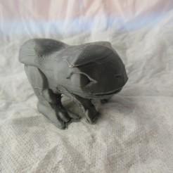 DSCN0432.JPG Télécharger fichier STL Reptile de camping mignon à crête • Modèle à imprimer en 3D, ammonite5665
