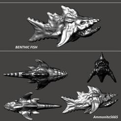 BenthicFish.jpg Télécharger fichier STL Poissons benthiques • Design imprimable en 3D, ammonite5665