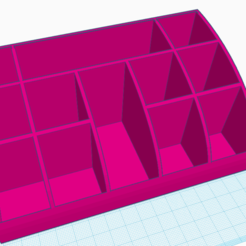 Captura de Pantalla 2020-09-06 a la(s) 22.42.32.png Download STL file Makeup Cosmetics Organizer • 3D printable object, maxifemeniaok
