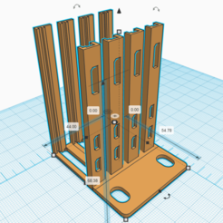 2020-09-27 20_43_24-3D design Surprising Vihelmo-Crift _ Tinkercad.png Download free STL file Four Raspberry Pi Zero one OU • 3D printable template, Kaptin42
