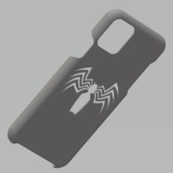 5.png Download STL file iPhone 11 Pro Case (Venom Edition) • 3D printable design, ggnctrkk