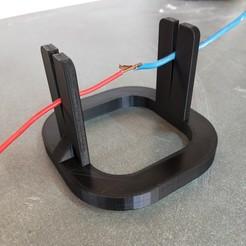IMG20200908154940.jpg Télécharger fichier STL Porte-câble pour la soudure • Objet pour impression 3D, aleglez19912