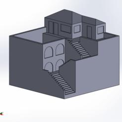 Télécharger fichier STL Magnifique pot de maison miniature pour bonsaï ou cactus • Plan pour imprimante 3D, aleglez19912