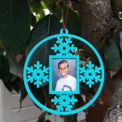 IMG20201111171911.jpg Download STL file Christmas tree ball with photo • 3D printer template, aleglez19912