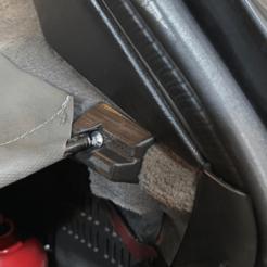 Clip de soporte para bandeja de maletero de BMW E30 Touring (2).png Download STL file BMW E30 TOURING - Trunk tray support clips • 3D print object, aleglez19912
