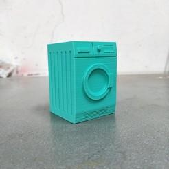 IMG20200915193704.jpg Télécharger fichier STL Machine à laver pour la maison de poupée • Plan imprimable en 3D, aleglez19912