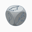 continental1.png Download free STL file Continental dice • 3D printable design, abaialex2244