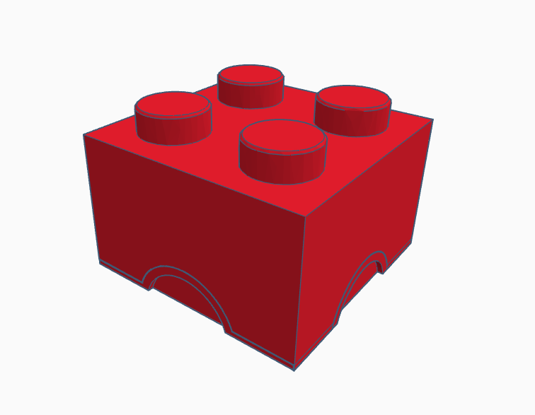 2x2 box.png Download STL file 2x2 lego box • 3D printer object, abaialex2244
