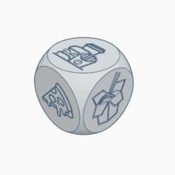 dice1.png Download free STL file Fast Food Dice • 3D printing design, abaialex2244