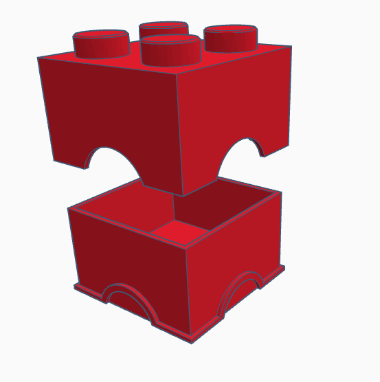 2x2 box1.png Download STL file 2x2 lego box • 3D printer object, abaialex2244